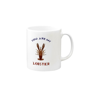 You Are My Lobster Mugs