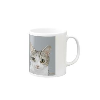 kinako-japanのチャビー君 Mugs