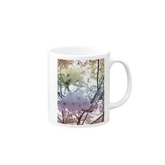 Colorful Photo(SAKURA) Mugs