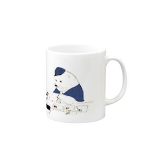 消印ペタペタ Mugs