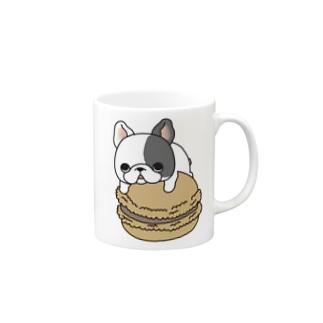 マカロン大好きフレブルちゃん。ヒダリパンチ。 Mug