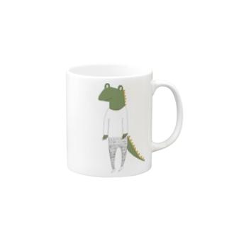 crocodile カラーバージョン Mugs