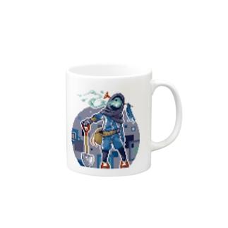 どっと絵 NO.17 Mugs