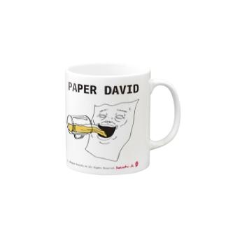 PAPER DAVID Drinking Mugs