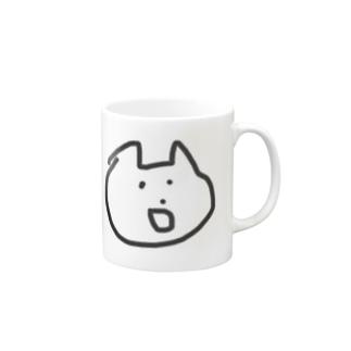 微妙な顔のねこ Mugs