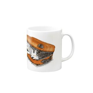 濃縮還元100%オレンジジュース色 Mugs