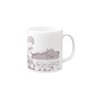 丸山変電所 Mug