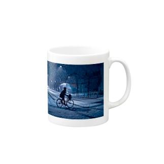 SNOW BLIND Mugs