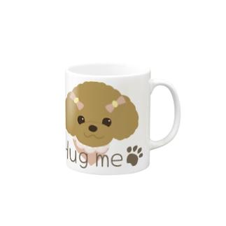 ハグミープードル Mugs