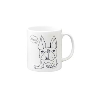 ハルモモフレブル Mugs
