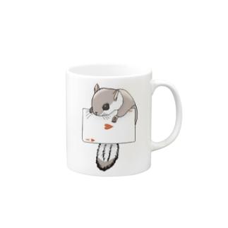 トランプとモモンガ Mug