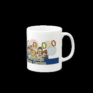 ふるさとグッズ販売にしふるかわ屋の西古川ビアガーデンマグカップ