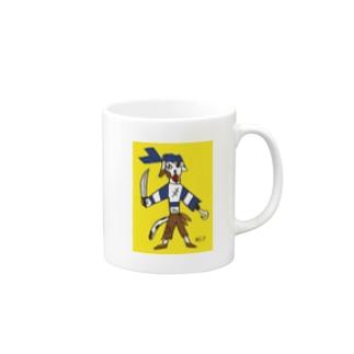 いぬ船長_mug02 Mugs