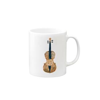 楽器シリーズ♬バイオリン Mugs