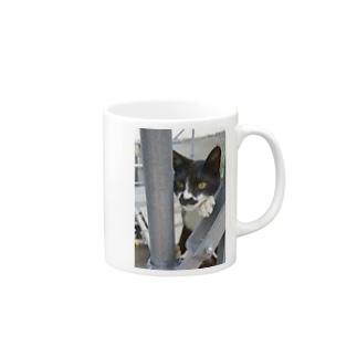 張り込み Mugs
