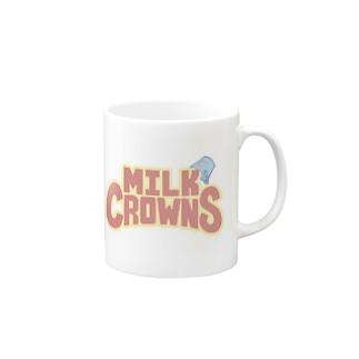 MILK CROWNS LOGO Mugs
