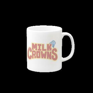 MILK CROWNSのMILK CROWNS LOGO Mugs