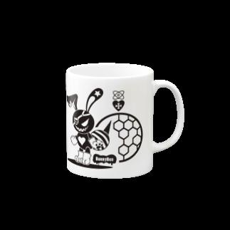ESCHATOLOGYのバニービー・アイパッチ Mugs