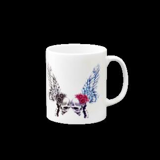 sioriの恋するガイコツ マグカップ
