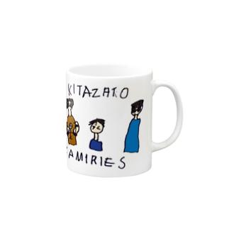 家族の絵 Mugs