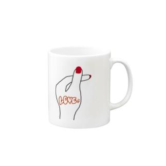 ХарукаのHeart Mugs