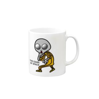 宇宙遊戯 ポスターバージョン Mugs
