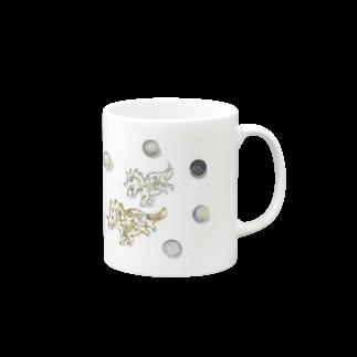 DINO2AVESの角竜の宇宙さんぽ⋆* Mugs