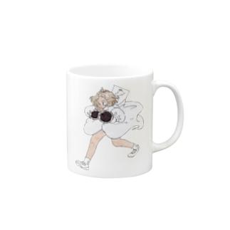 マイコップ(うずら) マグカップ