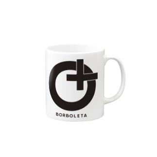 BORBOLETA -ボルボレッタ-のborboleta_preto Mugs