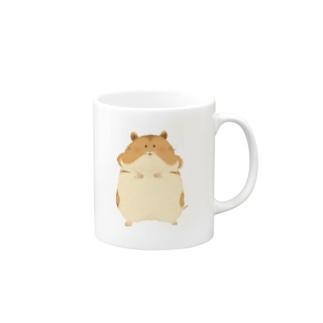 ゴールデンハムスター Mugs