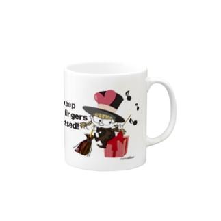 元気の出る魔女メリーのマグカップ 🎁 Mugs