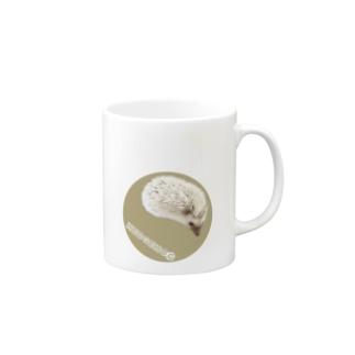 ワンポイントハリネズミ Mugs