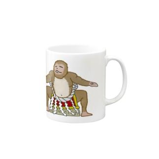 横綱猿 Mugs