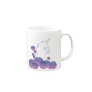 なんちゃってユニコーン Mugs