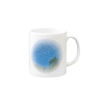 amupontanのうろこ雲〜! Mugs