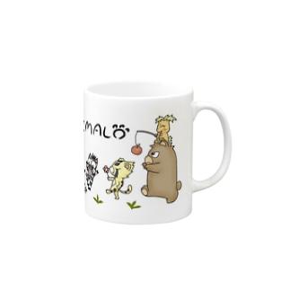 ANIMALマグカップ Mugs