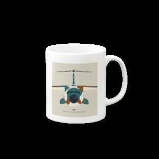 ayupenのC-1輸送機 こっち見てる Mugs
