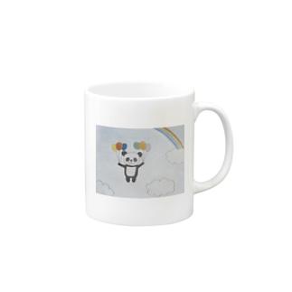 風船パンダ Mugs