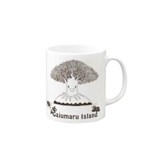 Gajumaru Island マグカップ