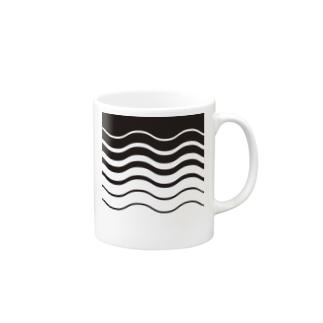 SW-黒 マグカップ