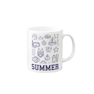 ハッピーサマー Mugs