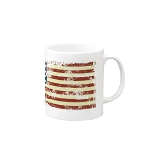 星条旗デザイン Mugs