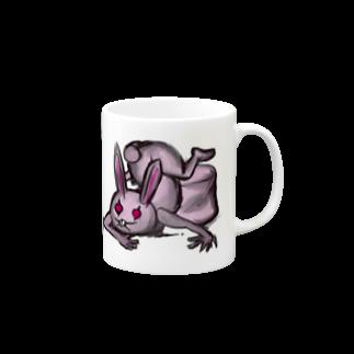 折羽ル子の獣人ウサ帝国 マグカップ