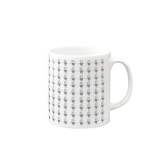 ぶらっくうーまん5 Mugs