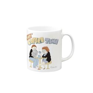 """HOT COFFEE TIME"" マグカップ"