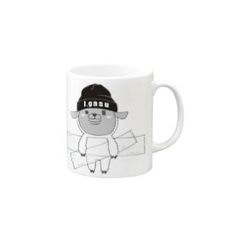 I.gasu🄬アイガスワールドのI.gasu sheep【アイガス】 Mugs