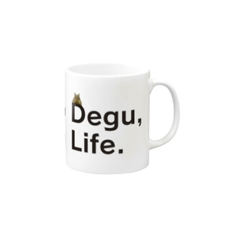 No Degu,No Life.(テグタン) Mugs