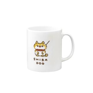 SHIBA DOG 〜しばいぬ〜 マグカップ