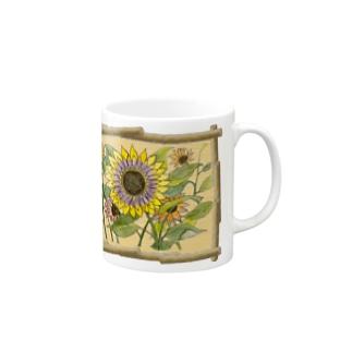 Sunflower2 -Language of flowers- Mugs