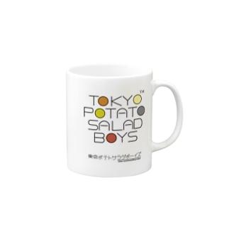 東京ポテトサラダボーイズ・マルチカラー公式 Mugs